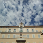 The Papal palace in Castel Gandolfo