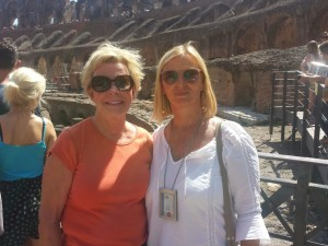 A trip to the Colosseum