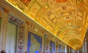 Vatican. Галерея карт