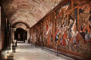 vatican museums tapestry gallery