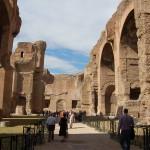The monumental baths of Caracalla